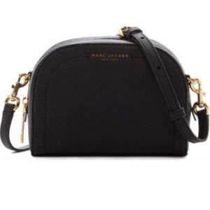 "Marc Jacobs Black ""Playback"" Crossbody Bag"